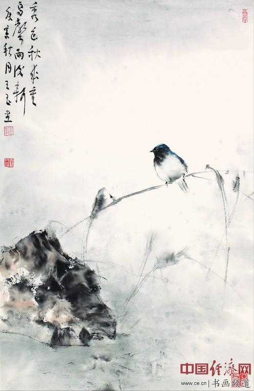 王玉花鸟 山水国画作品 虚淡雅静大美不言 组图