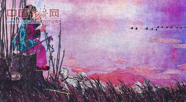 童谣 1986年 34x68cm
