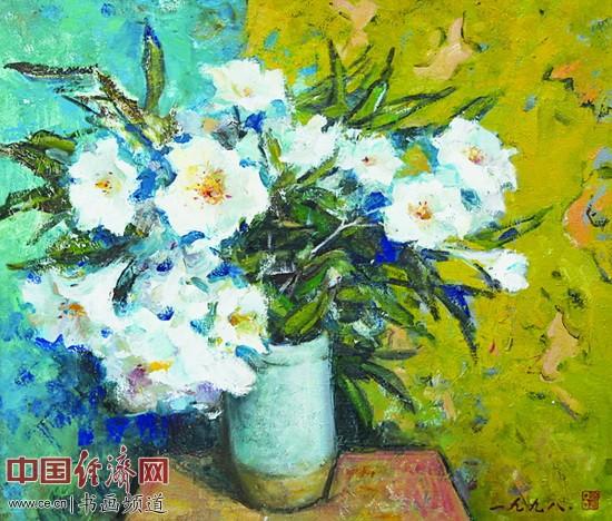 《百合花》1998年 吕洪仁作